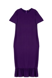Adam By Adam Lippes Frill Dress Purple