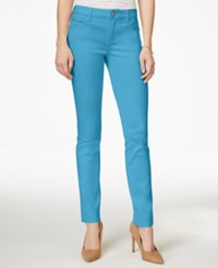 Celebrity Pink Juniors' Colored Skinny Jeans Bright Blue