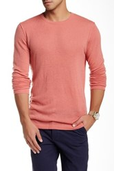 Autumn Cashmere Reverse Seam Cashmere Sweater Orange