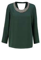 Only Onlnew Cuba Blouse Scarab Dark Green