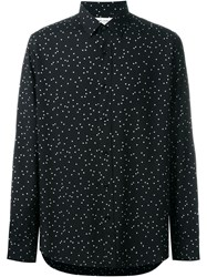 Saint Laurent Dot Print Shirt Black