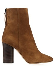 Isabel Marant Garett Suede Ankle Boots Tan