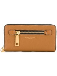 Marc Jacobs 'Gotham' Continental Wallet Brown