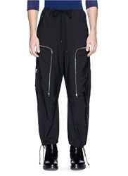 Tim Coppens Large Zip Pocket Cargo Pants Black