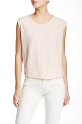 James Perse Muscle Tank Pink