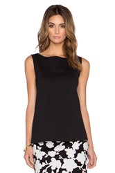 Kate Spade Bow Back Top Black