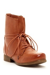 Godiva Combat Side Zip Boot Brown