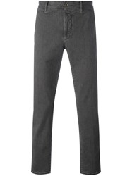 Incotex Straight Trousers Grey