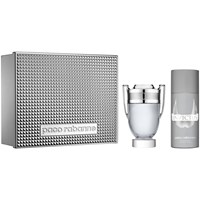 Paco Rabanne Invictus 100Ml Eau De Toilette Fragrance Gift Set