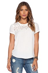 Ella Moss Joy Tee White
