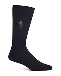 Polo Ralph Lauren Martini Bear Trouser Socks Black