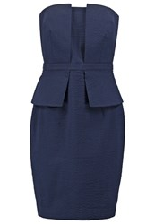 Banana Republic Shift Dress Preppy Navy Dark Blue