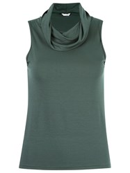 Lygia And Nanny Cowl Neck Blouse Green