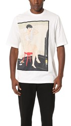 3.1 Phillip Lim Woman On Red Stool Tee Antique White