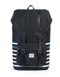 Herschel Little America Backpack Black Stripe