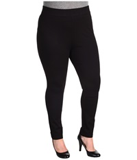 Nydj Plus Size Plus Size Jodie Pull On Ponte Knit Legging Black Women's Casual Pants