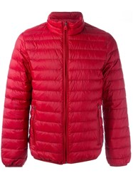 Armani Jeans Zip Up Jacket Red