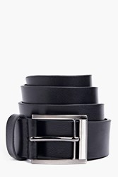 Boohoo Faux Leather Belt Black