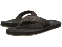 Quiksilver Monkey Wrench Brown Black Brown Men's Sandals