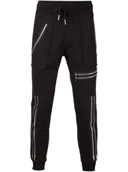 99 Is 99 Is Zipped Track Trousers Black