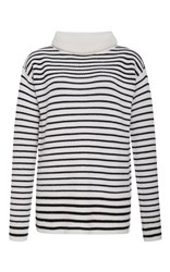 Atm Anthony Thomas Melillo Striped Pullover Sweater