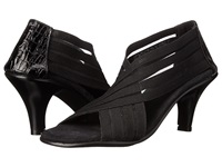 Vivanz Colette Black Crochet High Heels