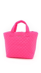 M Z Wallace Small Metro Tote Neon Pink