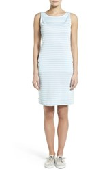 Women's Barbour 'Dalmore' Stripe Jersey Sleeveless Shift Dress