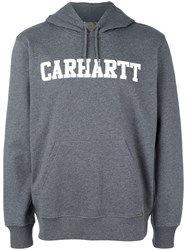 Carhartt College Hooded Sweatshirt Grey