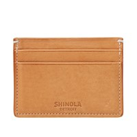 Shinola 5 Pocket Card Case Neutrals