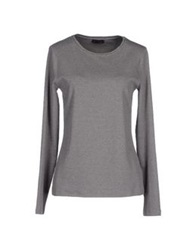 Peserico T Shirts Dove Grey