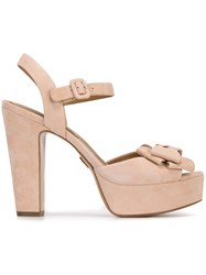 Michael Kors 'Lexington' Sandals Pink Purple