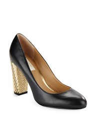 Lauren Ralph Lauren Viona Leather Pumps Black