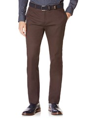 Perry Ellis Bedford Cord Flat Front Pants Phantom