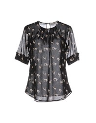 Andrea Incontri Shirts Blouses Women Black