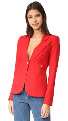 Smythe Duchess Blazer Red