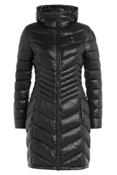 Blauer Quilted Down Coat Black