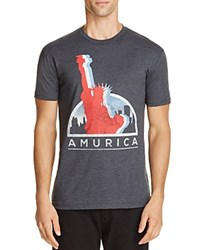 Kid Dangerous Amurica Graphic Tee Charcoal