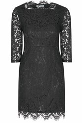 Alice And You Scallop Lace Dress Black