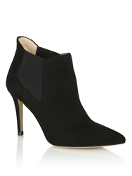 Daniel Bond Street Heeled Ankle Boots Black