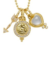 Temple St. Clair 18K Yellow Gold Amor Gift Set White Gold