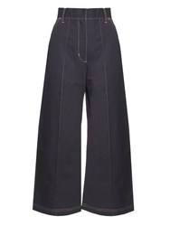 Wales Bonner Reed High Rise Denim Culottes