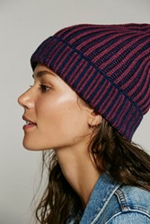 Free People Womens Berkley Two Tone Beanie