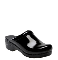 Dansko 'Sonja' Patent Leather Clog Black Patent