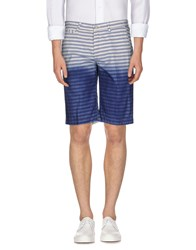 Manuel Ritz Trousers Bermuda Shorts Men Blue