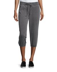 Marc New York Marc Ny Performance Cropped Drawstring Sweatpants Smoke Grey
