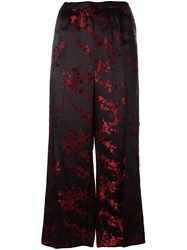 Marc Jacobs Cherry Blossom Trousers Red