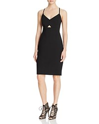 Laundry By Shelli Segal Strappy Cross Back Dress Black