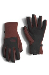 The North Face Men's 'Canyonwall E Tip' Tech Gloves Sequoia Red