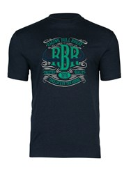 Raging Bull Rbr Applique T Shirt Navy